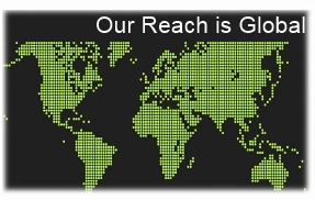 Our Reach is Global