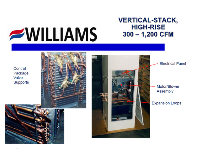 Vertical Stack Series Control Package