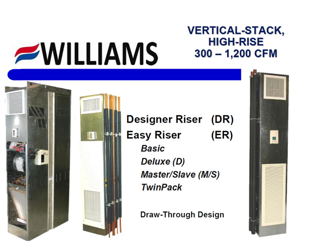 Vertical Stack Series Draw Throug Design